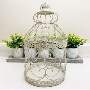 Cottage French Country Rustic Birdcage Home Decor